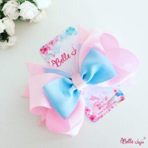Gancho - Ana rosa e azul